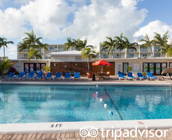 Pool at the Pools at the Skipjack Resort Suites & Marina