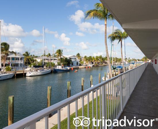 Hallways at the Skipjack Resort Suites & Marina