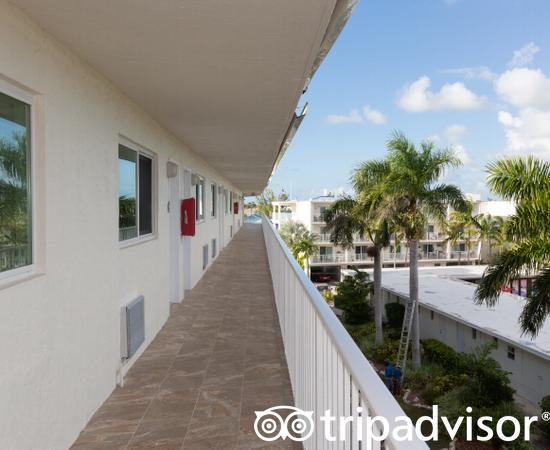 Hallways at the Skipjack Resort Suites & Marina