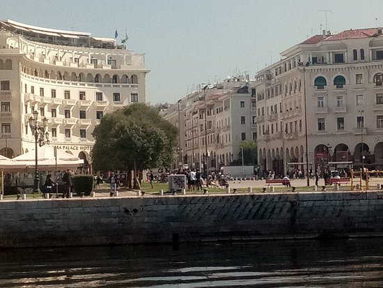 Aristotelous square looking from Blue Foam