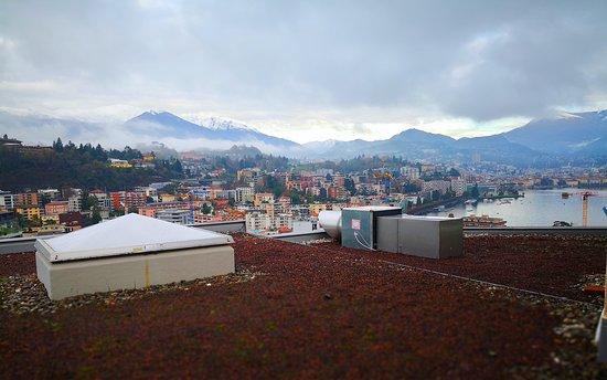 Chambre 319, vue depuis le balcon