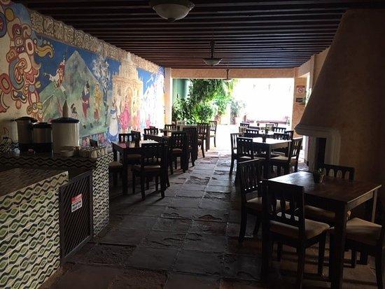 Hotel Casa del Parque: Salle de petit déjeuner