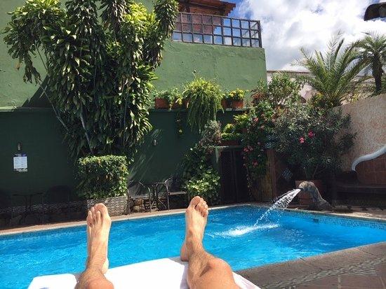 Hotel Casa del Parque: Super endroit pour se relaxer