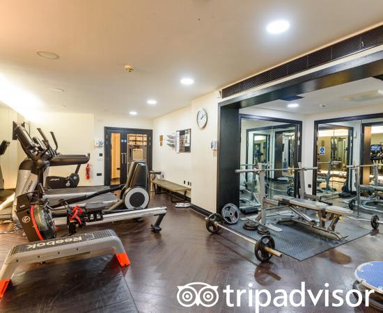 Fitness Center at the Crowne Plaza London - Battersea