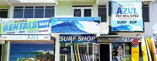 Verde Azul Surf & Stand Up Paddleboard Shop