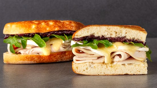 Urbane Cafe: Turkey Cranberry Brie Sandwich