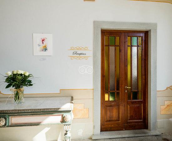 Lobby at the Hotel Villa La Palagina