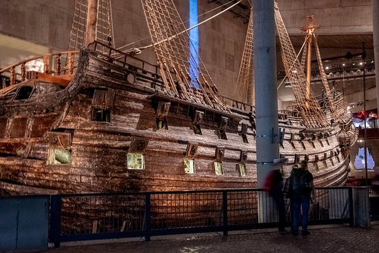 The recovered ship - Vasa