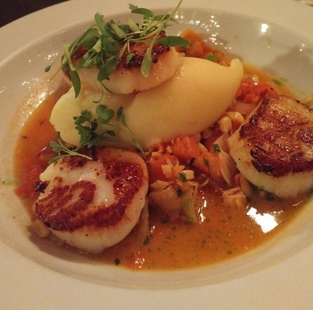 PAON Restaurant & Wine Bar: spectacular scallops
