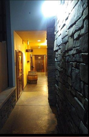 PAON Restaurant & Wine Bar: Smoking hall