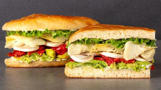Urbane Cafe: Californian Veggie Sandwich