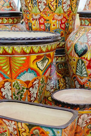 Pottery, Talavera, Folk Art, Furniture and Home Decor at Zocalo Village