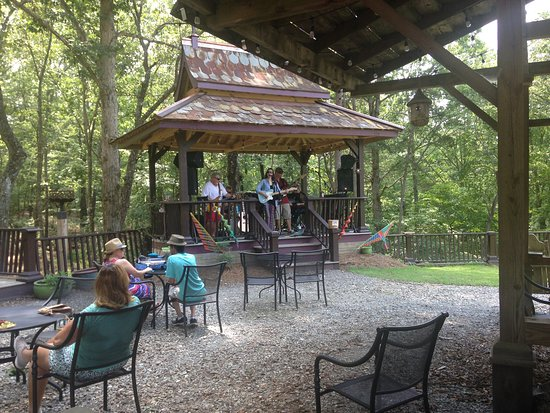 Ball Ground, GA: Feather's Edge Vineyards is one mile north of the 372 and Hwy 5 intersection