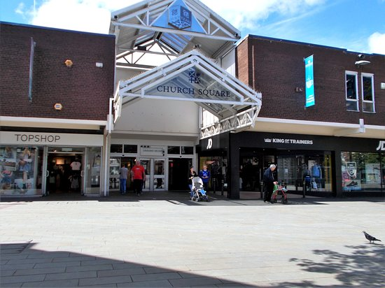 Saint Helens, UK: Church Square Shopping Centre, St. Helens