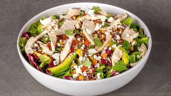 Urbane Cafe Oxnard: Seasonal Quinoa & Corn Salad