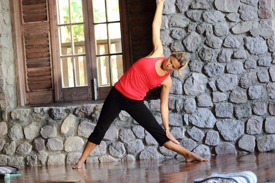Jungle Bay Dominica: 2 spacious yoga studios that overlook the sea