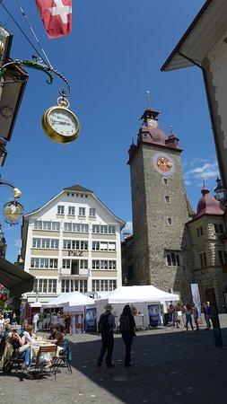Швейцария: Красивый город Люцерн