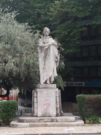 Estatua de Camilo Castelo Branco