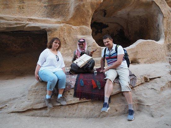 С бедуином-музыкантом