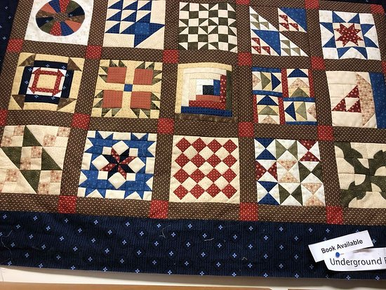 Georgia Sewing & Quilting: An Underground Railroad quilt