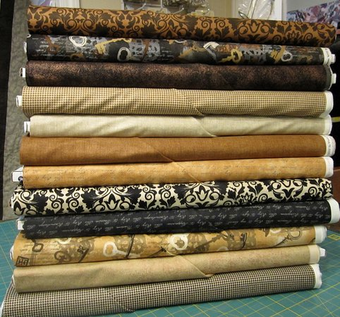 Georgia Sewing & Quilting: One of many fabric collections that change constantly