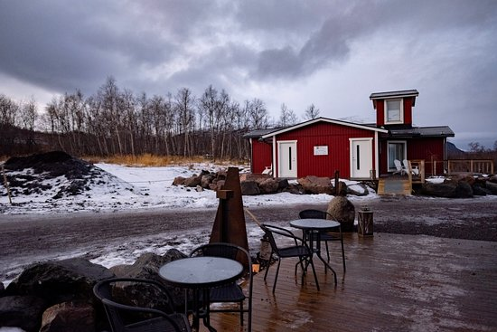 Abisko Mountain Lodge: Our deluxe room was in a detached building