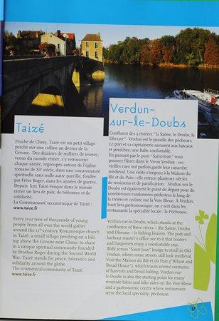 Saone-et-Loire, France: La brochure : Saône et Loire Bourgogne du Sud - Le pays Chalonnais : C'est une jolie brochure à demander à l'OT car celle-ci est vraiment complète et présente bien bien les différents villages de la région, mais aussi les activités à réaliser avec les adresses Elle est vraiment bien faite cette brochure