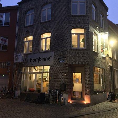Brasserie Kombinne: Het interieur van Brasserie Kombinné