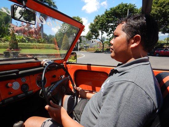 Bong King, a serious and safe Bali Bali Driver.