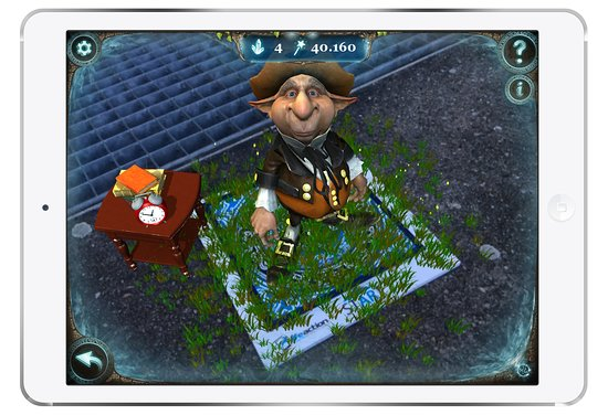 QuestWorld: Rozšířená realita v praxi / Augmented reality in action
