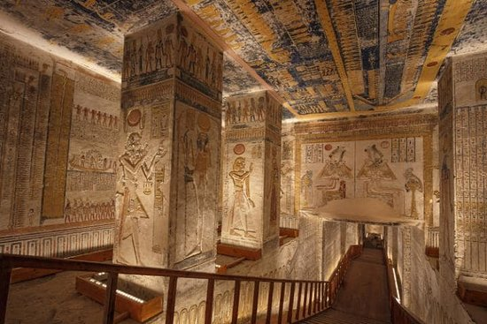 Valley of the Kings , Ramses 3 Tomb