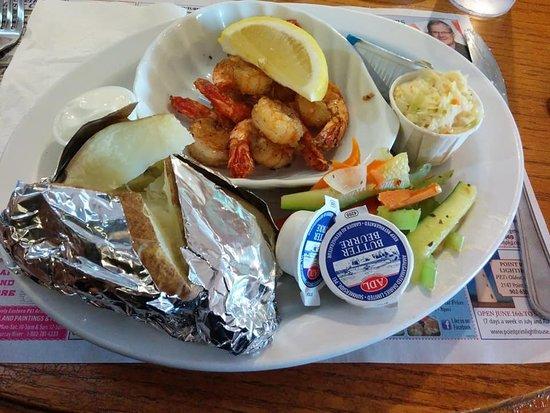 Blue Fin Restaurant: Tasty dinner