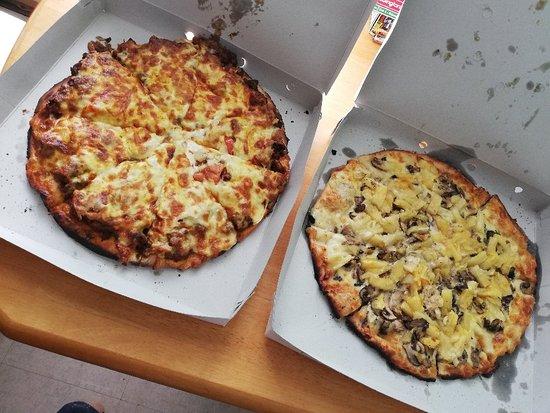 пицца по времени
