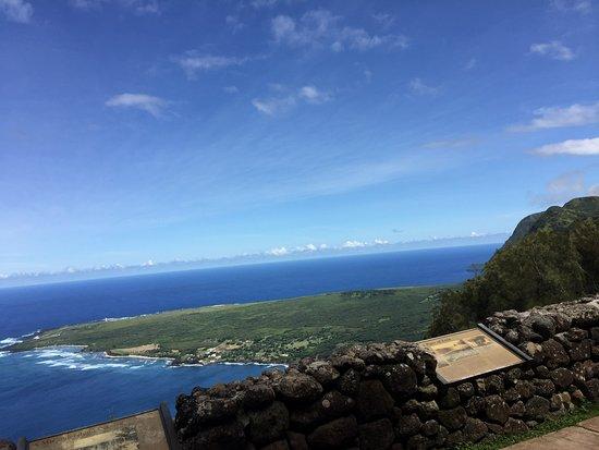 Kaunakakai, هاواي: Kalaupapa lookout