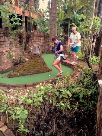Khao Lak Mini Golf: Unique course with so many obstacles!