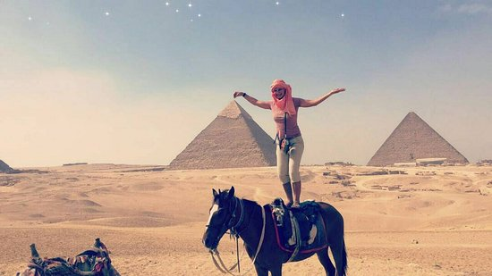 Egypt Best Holidays: In Front Of The Pyramids