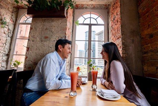 Bistecca e Vino Da Trattoria de la Plaza I Centro Internacional: Vista inolvidable para compañías memorables