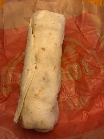 10-25-18 Crunchy Chicken and Potato Burrito