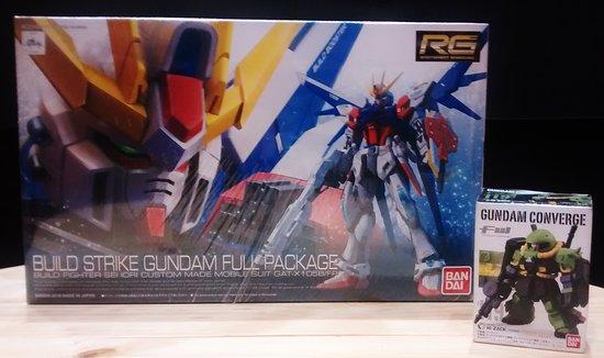 Gundam Buildstrike, modelos a escala, BAN DAI (Japonés)