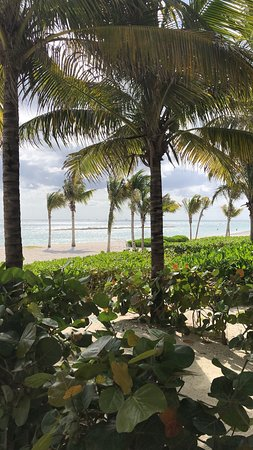 View from beach-side room
