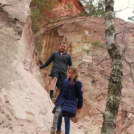 exploring canyon