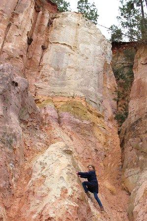 pretty canyon wall