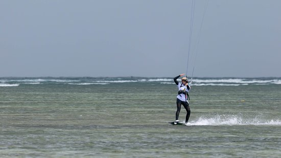 Kiteboarding at Sorrento Beach Club