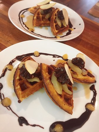 Beachcomber Restaurant: WAFFLE DAY IN BEACHCOMBER. WEDNESDAY UNTIL SUNDAY 8.30AM-10AM