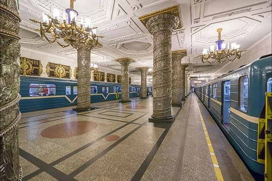 St Petersburg Metro Tour