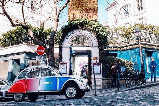 Visite classique de Paris en 2CV