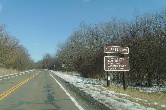 7 Lakes Drive Private Tour fra Newark