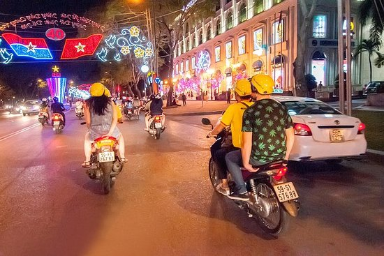 Saigon Nightlife Tour mit dem Fahrrad