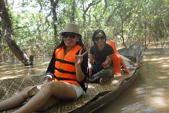 乘船游览Kompong Phluk和Tonle Sap Lake的全日游