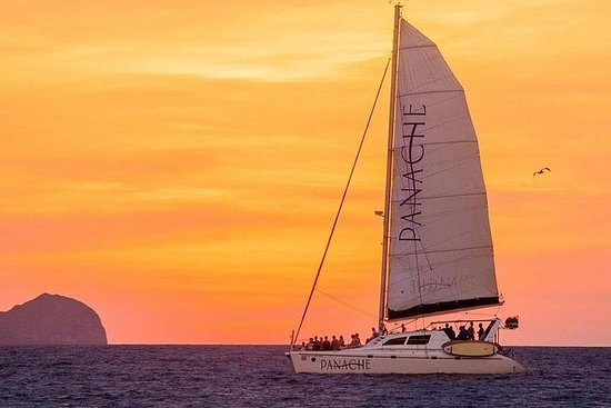 Sunset Catamaran Sailing at Flamingo...